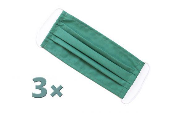 BeWooden - 3x green mask