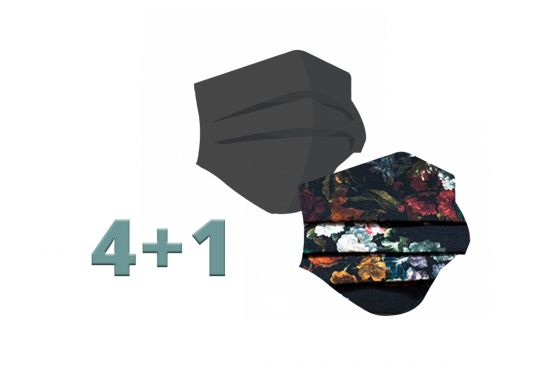 4+1 Fashion Masks