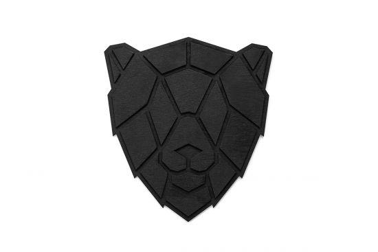 BeWooden - Lion black