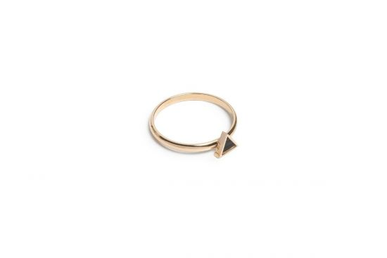 BeWooden - Lux Triangle Ring