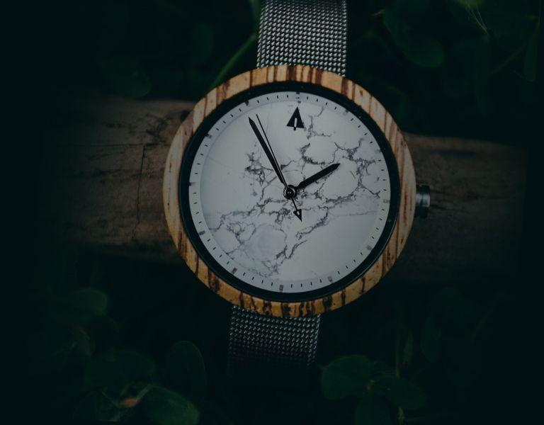 Holz Armbanduhr TH