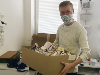 Wir spendeten über 20.000 Masken!