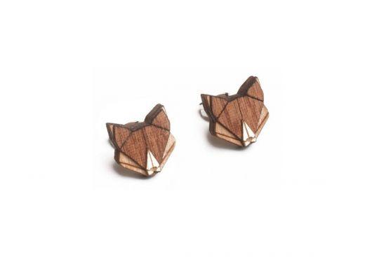 Fox Earrings