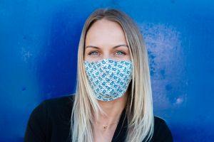 Paisley Rubber Mask