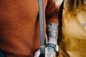 Brunn Tweed Suspenders