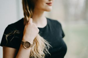 Diamond Rose Watch