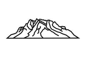 Zugspitze Siluette