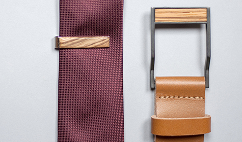 clip_tie_men_brown_with_tie_and_belt_bewooden_3
